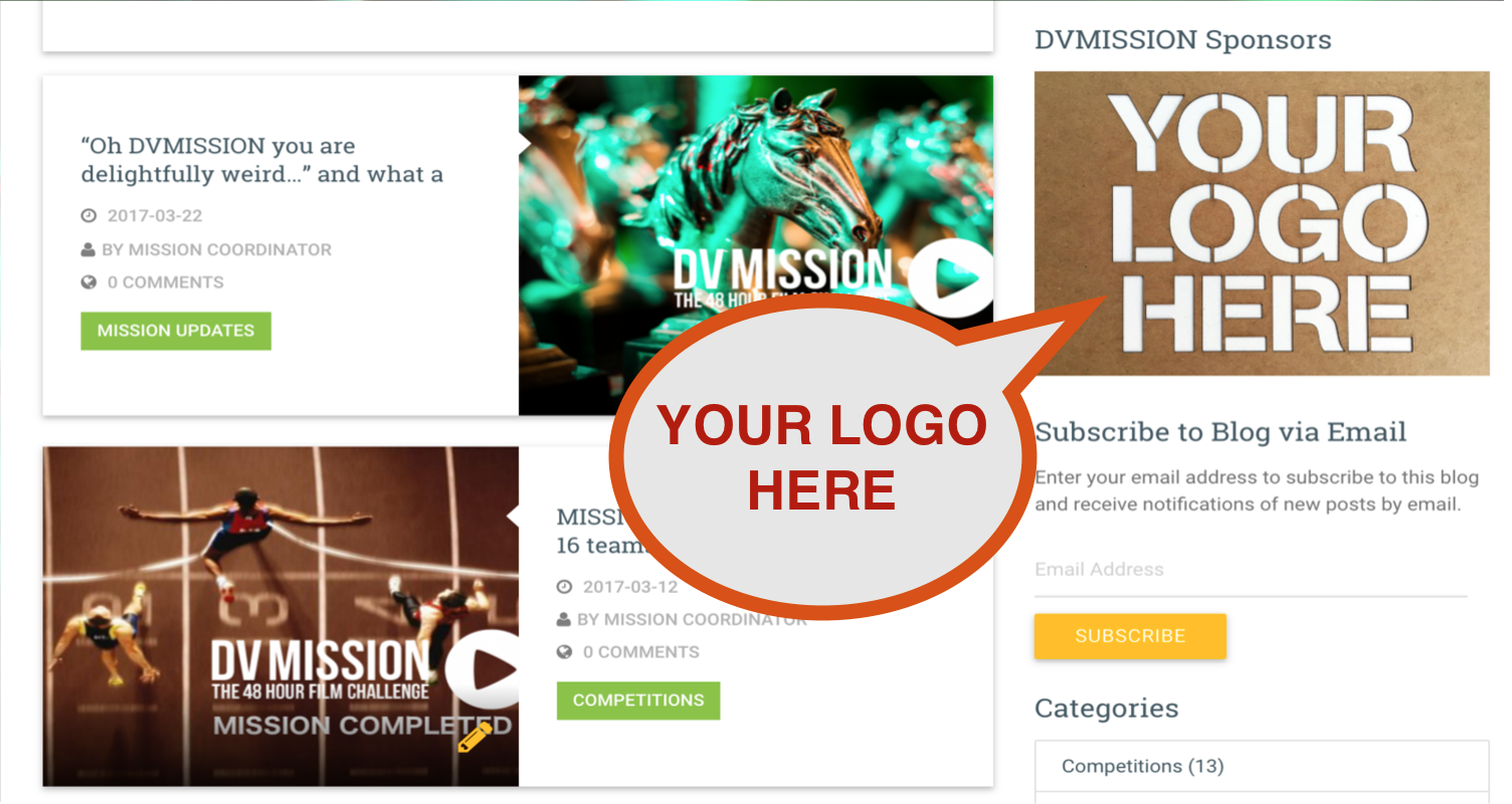 DVMISSION Your Logo Here